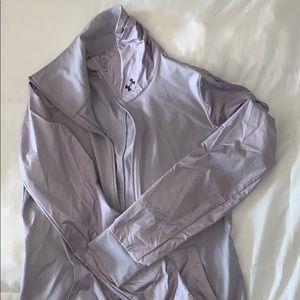UNDER ARMOUR Lavender Zip Up Jacket